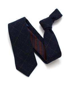 General Knot & Co. - Fine Check & Stripe Necktie