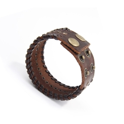Sport Spirit - Rivets Bangle Cuff Bracelet
