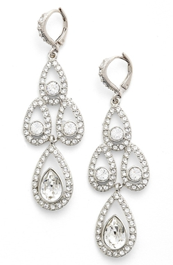 Givenchy - Crystal Chandelier Drop Earrings