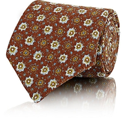 Petronius - Medallion-Pattern Necktie