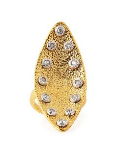 Alexis Bittar  - Crystal-Studded Marquise Ring