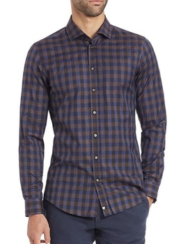 Strellson  - Check Cotton Sportshirt