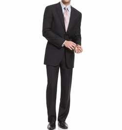 Alfani - Solid Black Trio Suit