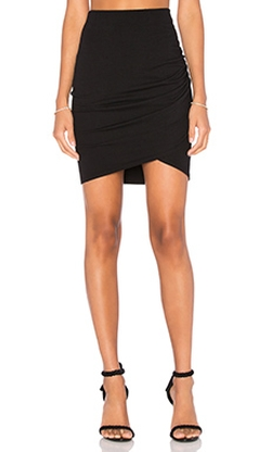 Michael Stars  - Cross Front Mini Skirt