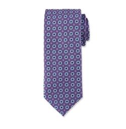 Canali - Woven Medallion Silk Tie