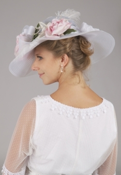 Recollections - Edwardian Pink Roses Hat