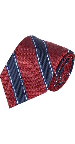 Fairfax - Stripe Jacquard Tie