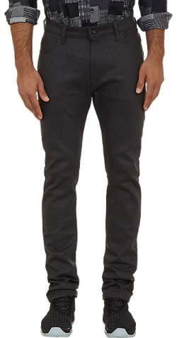 Westbrook Xo Barneys New York X Naked & Famous - Black-Weft Denim Jeans