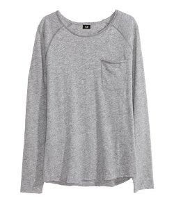 H & M - Linen-blend Top