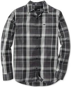Hurley  - Luke Long-Sleeve Plaid Shirt