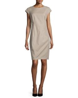 Lafayette 148 New York - Savita Cap-Sleeve Sheath Dress