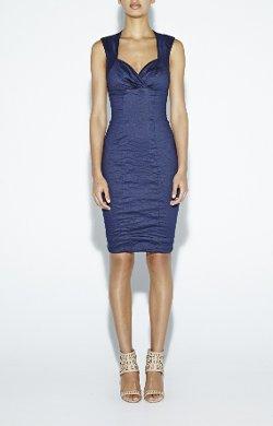Nicole Miller - Sofia Cotton Metal Dress
