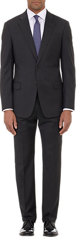 Armani Collezioni - Worsted Two-Button Suit