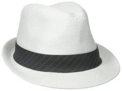 Haggar  - Straw Fedora Hat