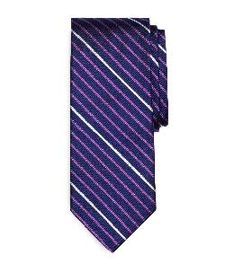 BROOKS BROTHERS - Alternating Bar Stripe Tie