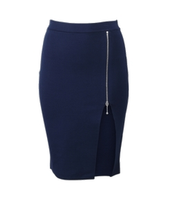 Alexander Wang  - Zip Detail Pencil Skirt