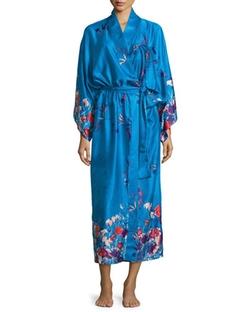Natori - Nadja Floral Satin Robe