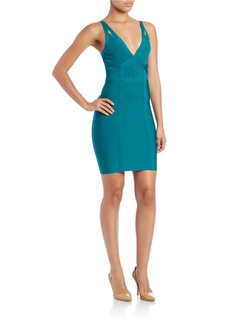 Guess - V-Neck Bandage Dress