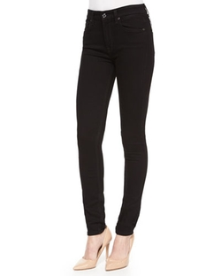 7 For All Mankind - High-Waist Skinny Jeans