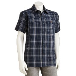 Dickies - Plaid Button-Down Shirt