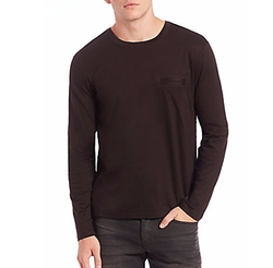 Saks Fifth Avenue Collection - Cotton Long-Sleeve T-Shirt