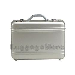TRANSWORLD - 18-inch Aluminum Attache Briefcase