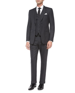 Burberry London  - Prince of Wales Three-Piece Suit