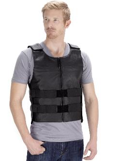 VikingCycle  - Bullet Proof Style Motorcycle Vest for Men