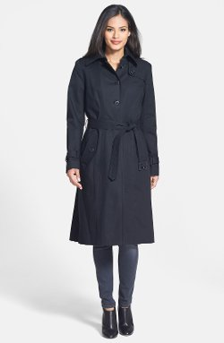 Pendleton  - Single Breasted Trench Coat with Detachable Liner & Hood