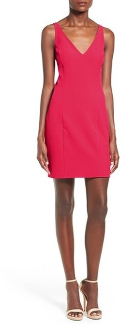 Leith - V-Neck Sheath Dress