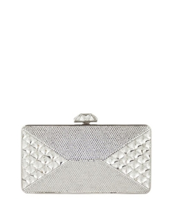 Judith Leiber Couturejudith Leiber Couture - Diamond Crystal Box Clutch Bag