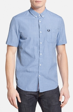 Fred Perry - Slim Fit Short Sleeve Sport Shirt