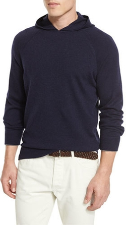 Brunello Cucinelli - Cashmere Long-Sleeve Hoodie