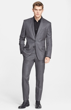 Versace Collection - Trim Fit Wool Suit