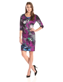 Gabby Skye  - Printed Sheath Dress