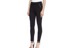 Elie Tahari - Trina Zip-Pocket Slim-Leg Pants