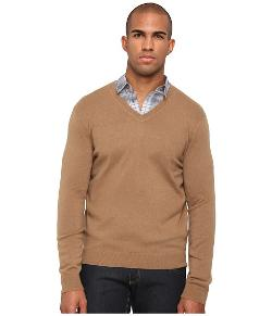 Vince  - Cashmere Long Sleeve Basic V-Neck