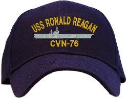 Spiffy  - USS Ronald Reagan CVN-76 Baseball Cap