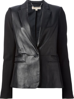 Michael Michael Kors - Leather Look Blazer