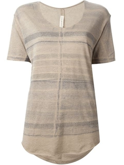 Raquel Allegra - Stripes Print Blouse