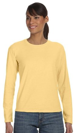 Comfort Colors  - Ringspun Garment-Dyed Long-Sleeve T-Shirt