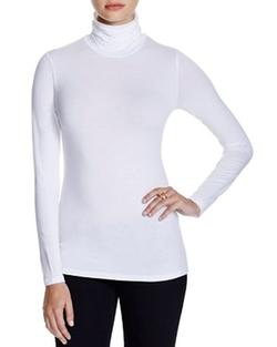 Majestic - Long Sleeve Turtleneck Shirt