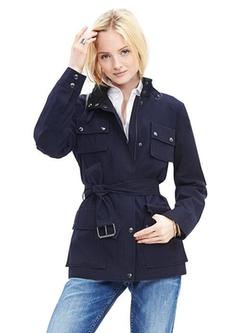 Banana Republic - Navy Field Jacket