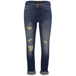J Brand - Georgia Mid Rise Boyfriend Jeans