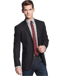 DKNY - Solid Extra-Slim-Fit Blazer