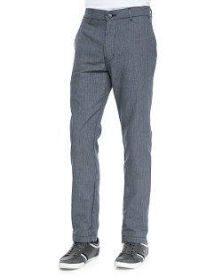 J Brand Jeans - Rivet Micro-Check Chino Pants