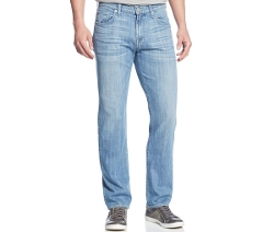 7 For All Mankind  - Straight-Leg Luxe Performance Island Life Jeans