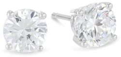 Houston Diamond District - Solitaire Diamond Stud Earrings
