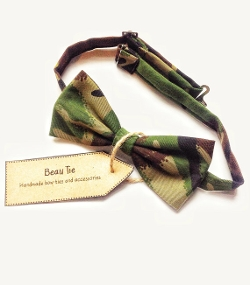 BeauBowTies - Mens Bow Tie Camo Print