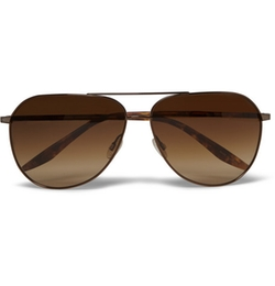 Barton Perreira - Hawkeye Tortoiseshell Acetate And Metal Sunglasses